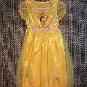 Toddler girls Disney Princess Belle nightgown 5T